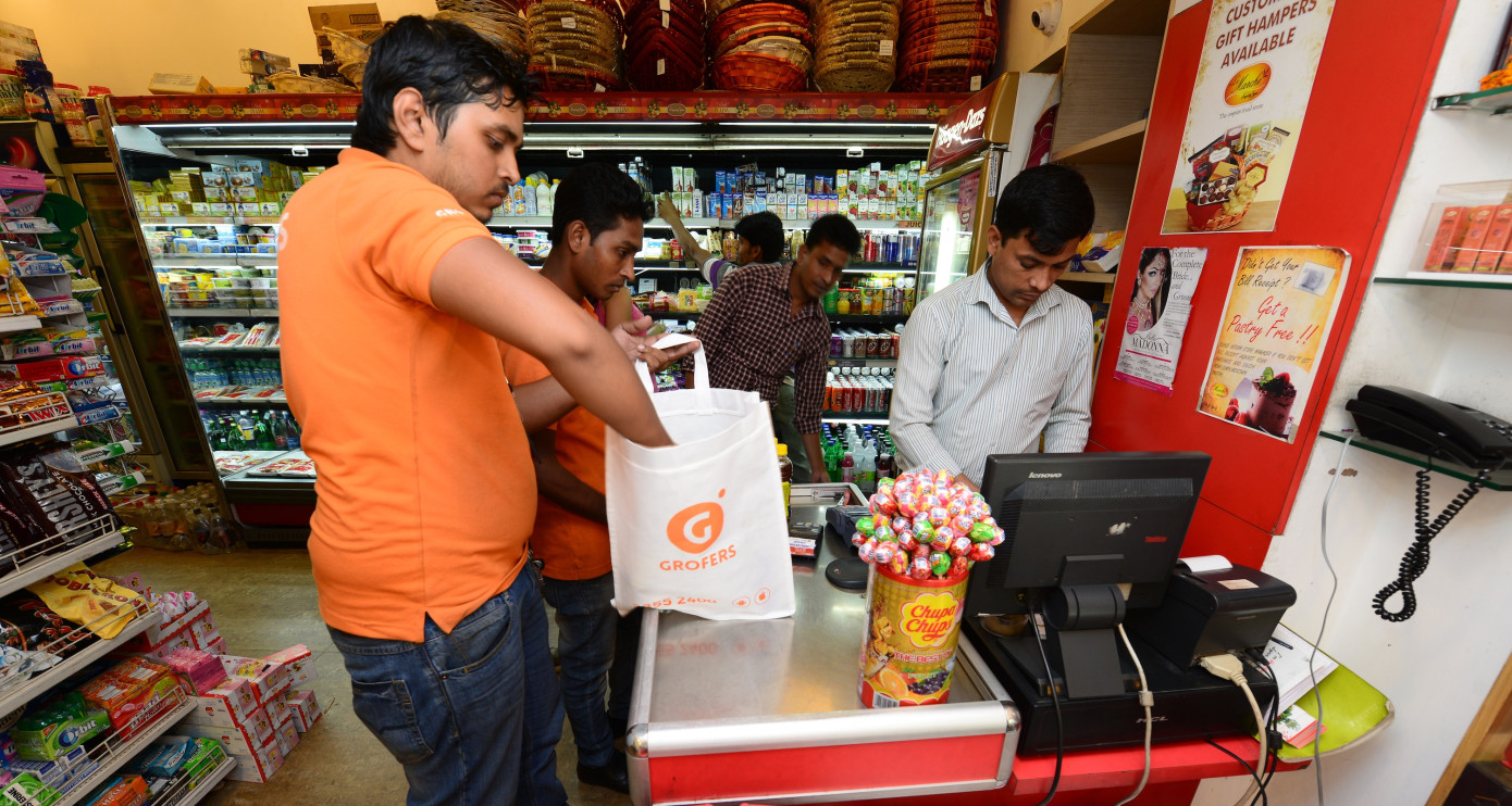Grofers the online grocery startup ends up with a $200M investment from Soft Bank's Vision Fund
