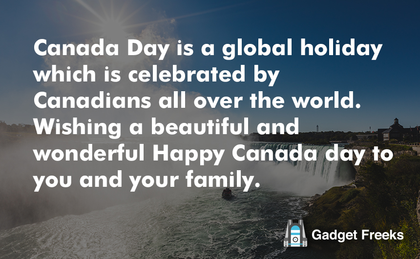 Canada Day Greetings