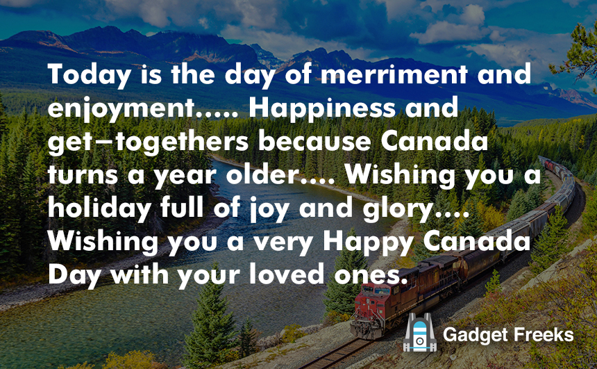 Canada Day Sayings