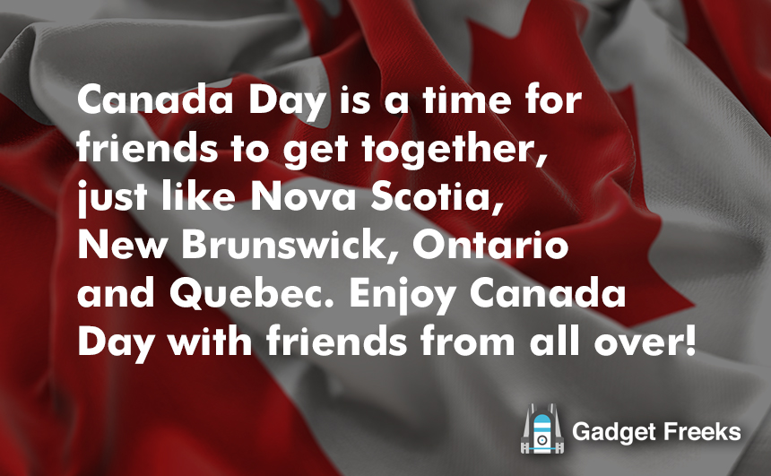 Canada Day Wishes for Friends & Family