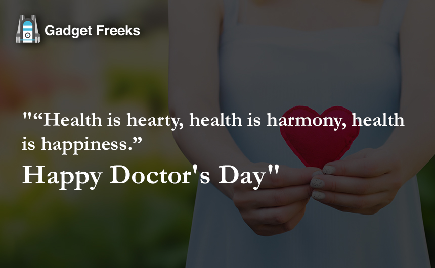 Doctor's Day Sayings