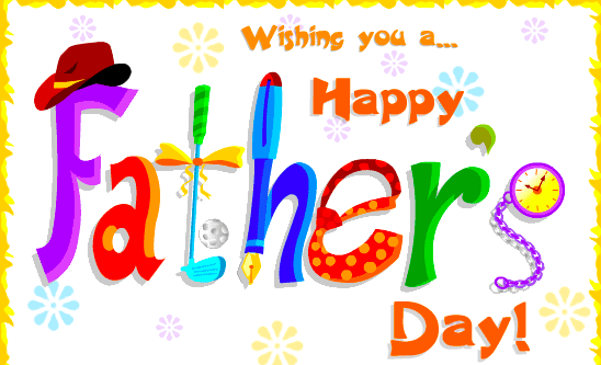 Fathers Day Animated Greeting Card