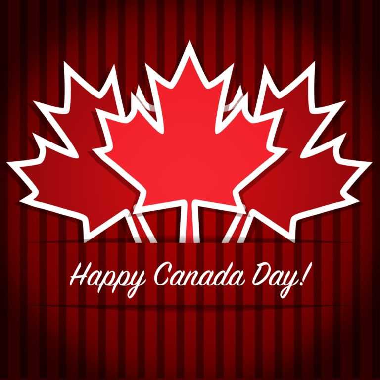 Happy Canada Day Cards