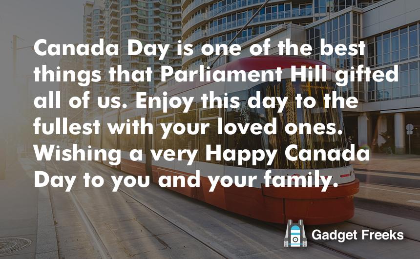 Happy Canada Day Parade