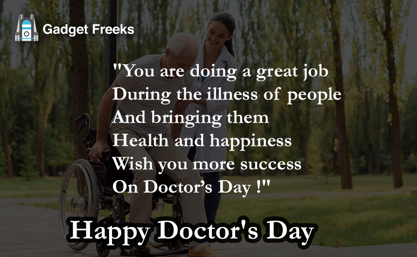 Happy Doctor's Day Status for Whatsapp
