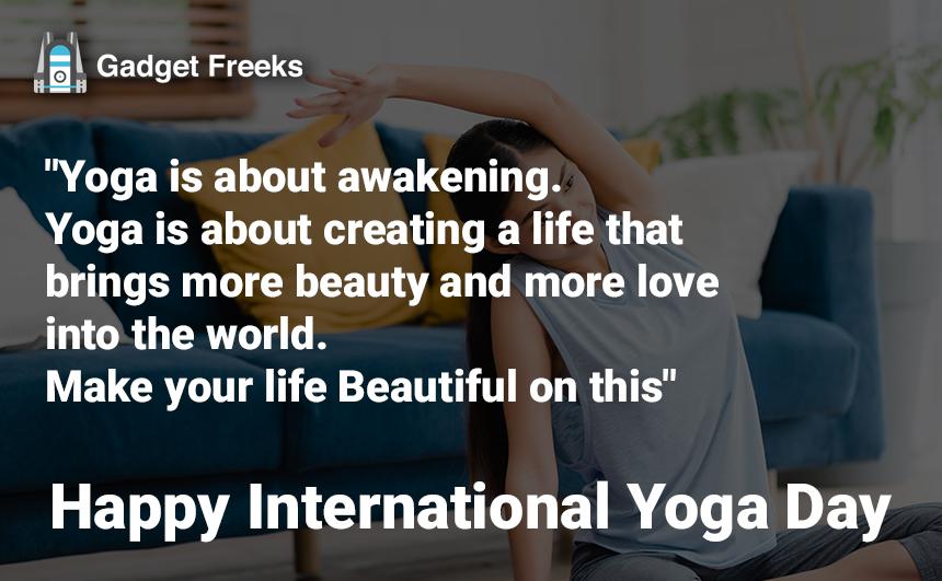 International Yoga Day 2019 Quotes