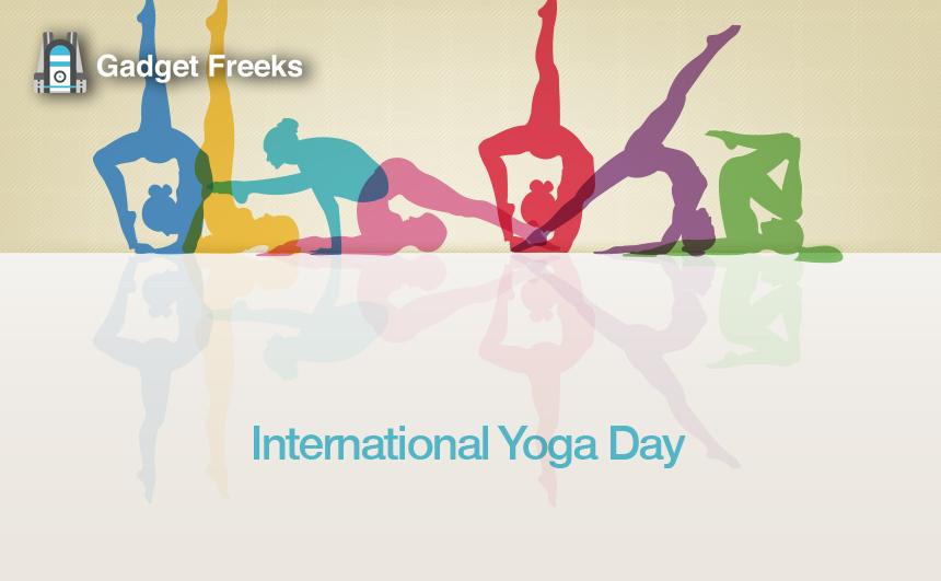 International Yoga Day Banner 21st June