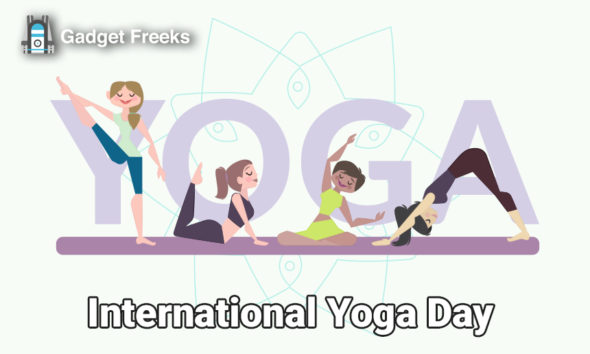 International Yoga Day Banners
