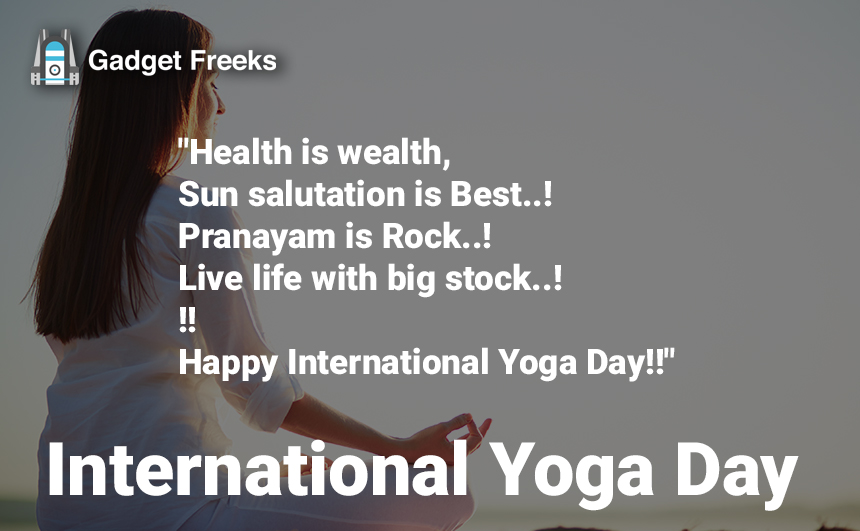 International Yoga Day Messages