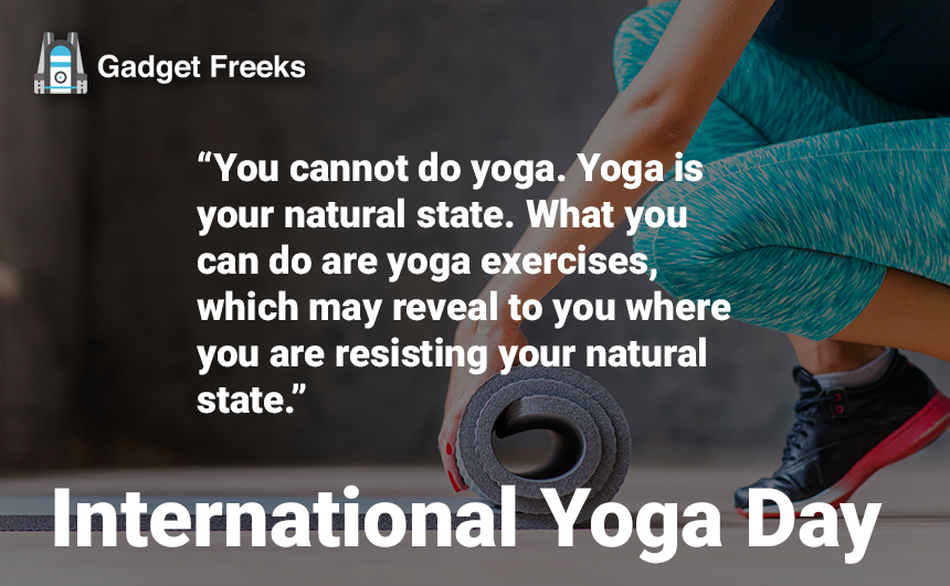 International Yoga Day Posters
