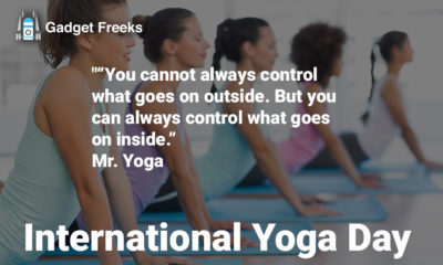 International Yoga Day Quotes