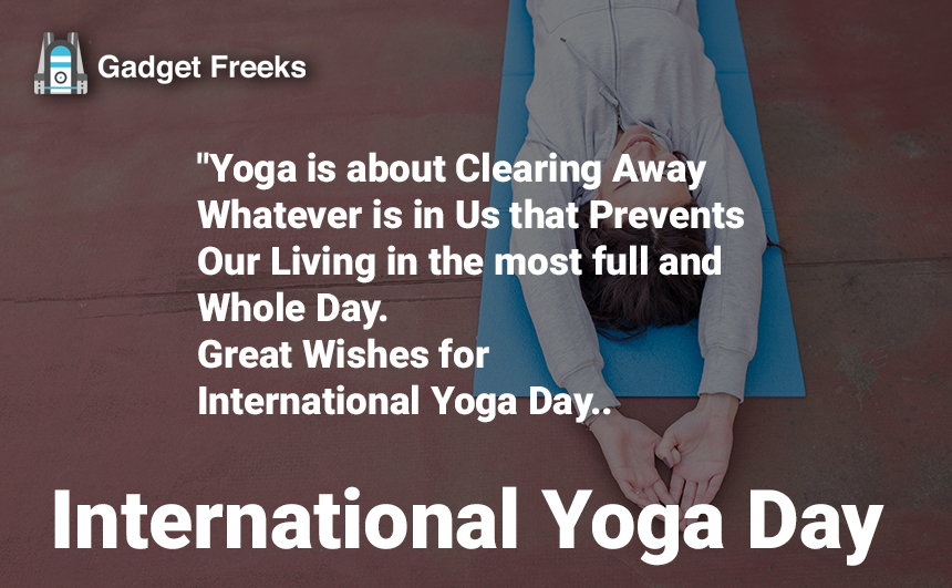 International Yoga Day SMS