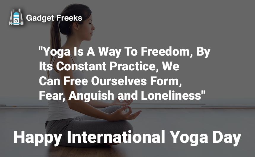 International Yoga Day Slogans