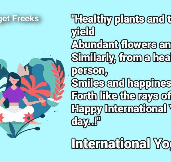 International Yoga Day Wishes