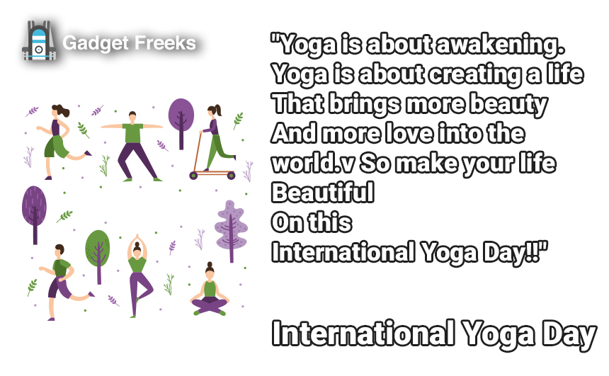 International Yoga Day Wishes for 21st June