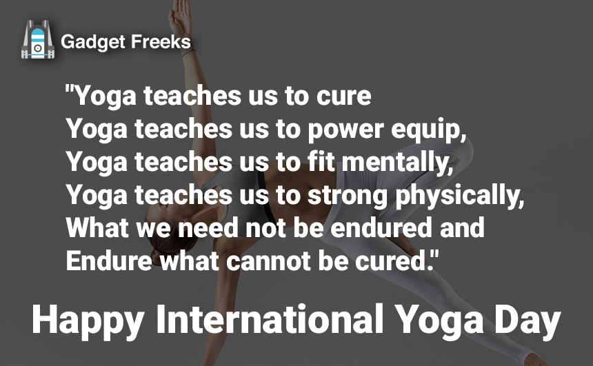 Yoga Day 2019 Quotes
