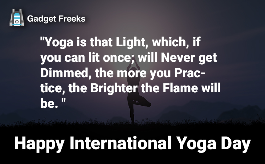 Yoga Day Quotes