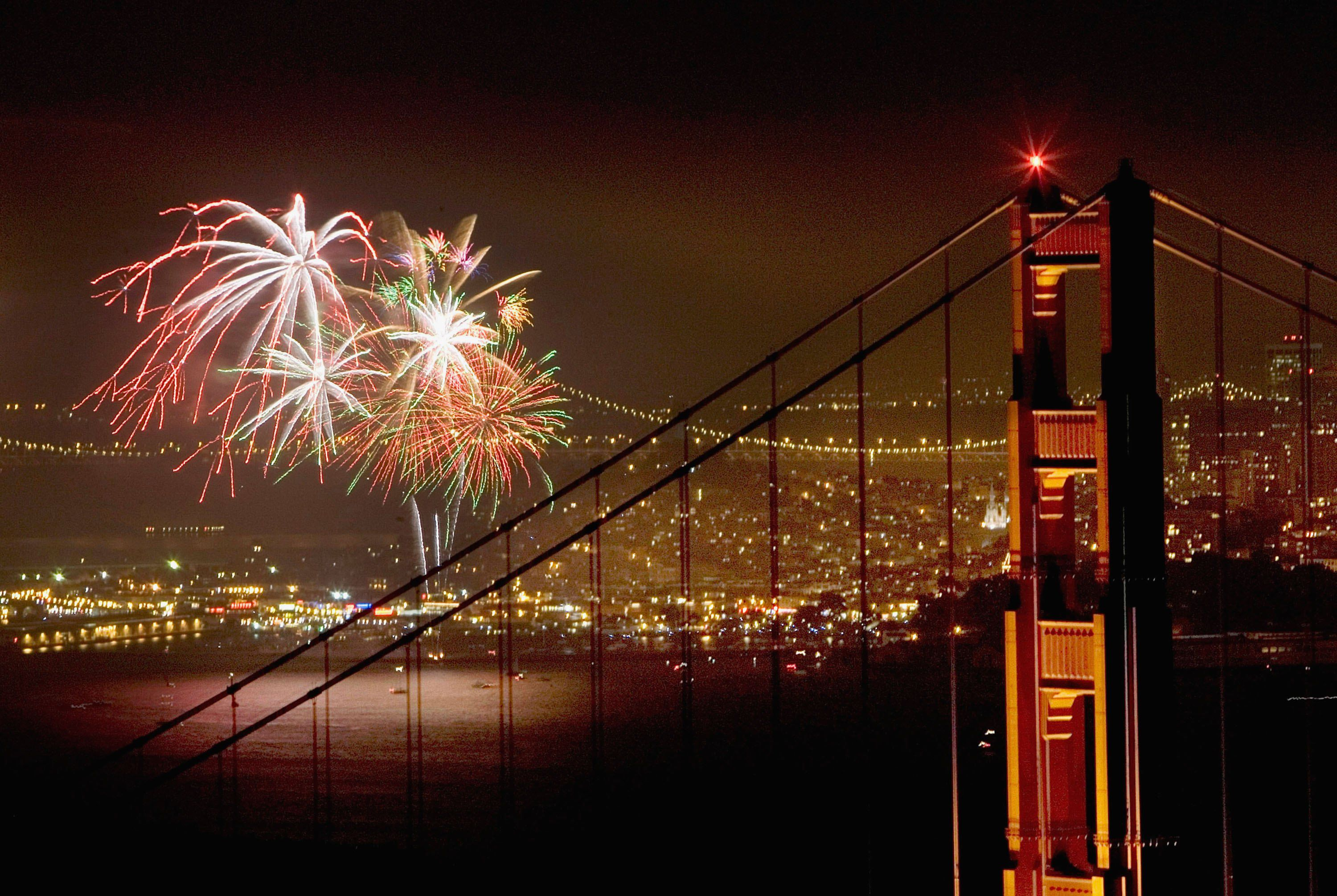 4th of July Fireworks, Events & Celebration in San Francisco