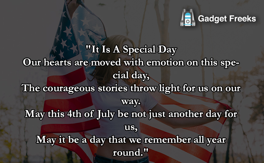 4th of July Poetry for Friends & Family