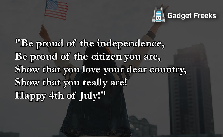 4th of July Status