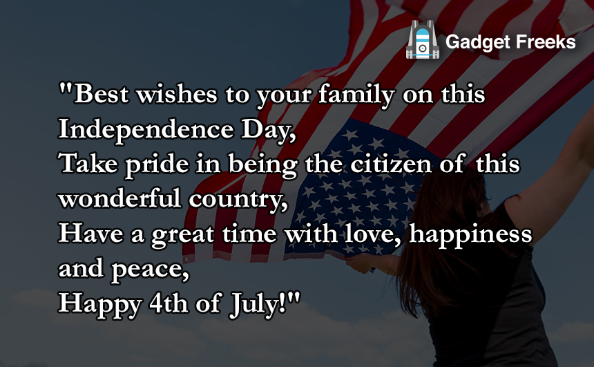 Fourth of July Status for Whatsapp