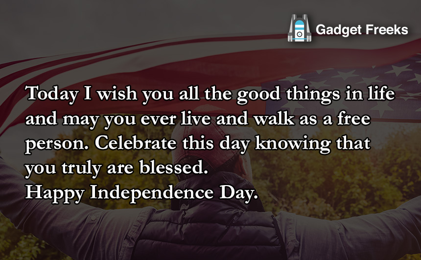 Greetings of 4th July 2019