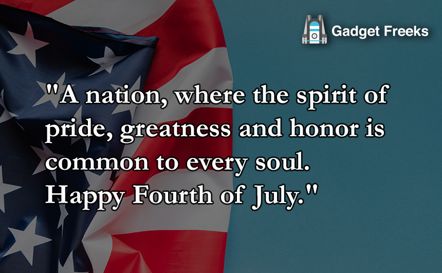 Happy 4th of July SMS