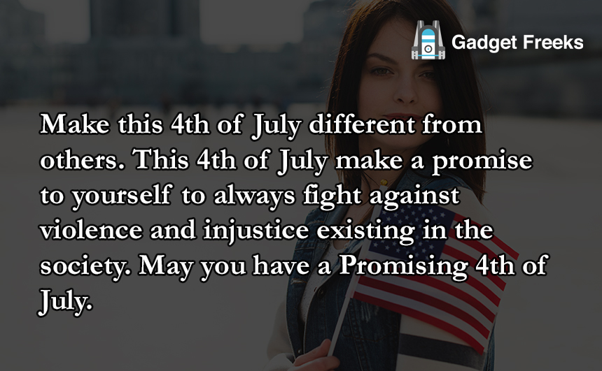 Happy 4th of July Status