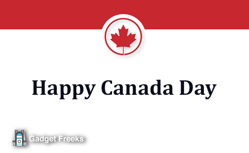 Happy Canada Day Wallpaper