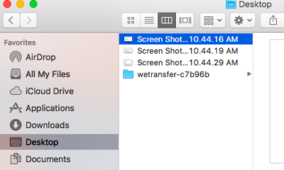 Searching a Screenshot File