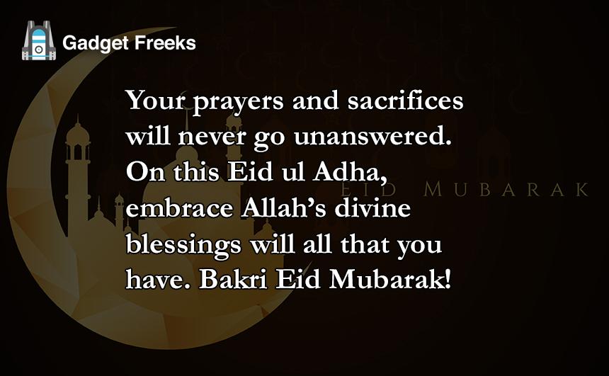 Bakra Eid Greeting Cards