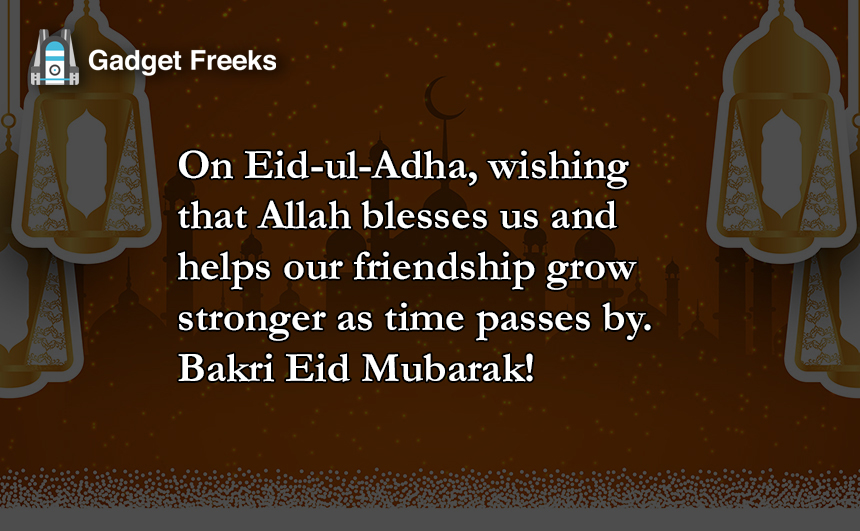 Bakra Eid Messages