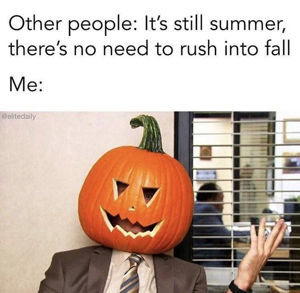 Bye, Summer meme for Labor Day