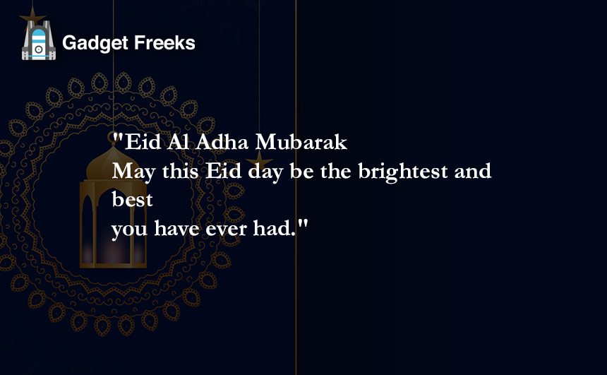 Eid Al Adha Messages