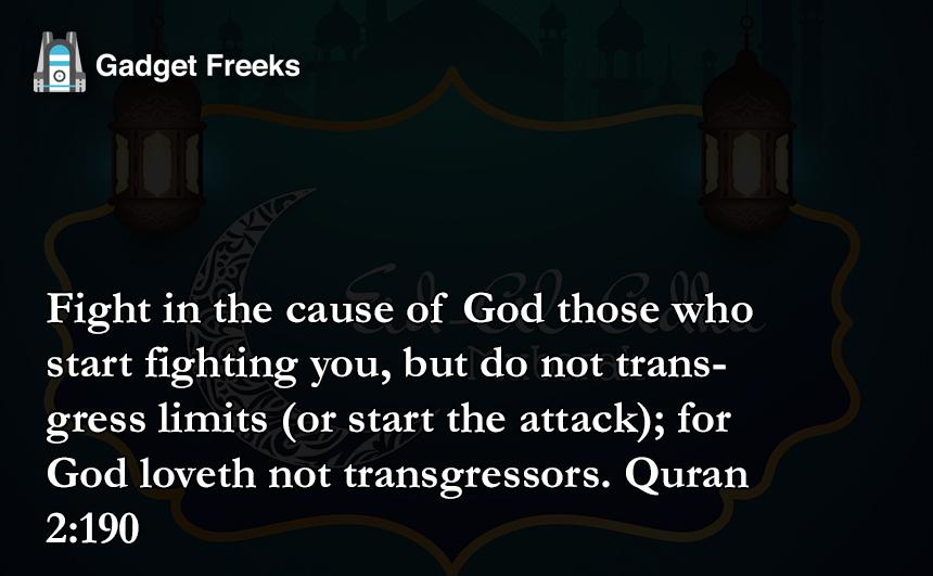 Eid Al Adha Quotes