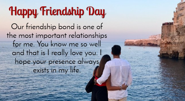 Friendship Day Love Wishes for Wife & Husband