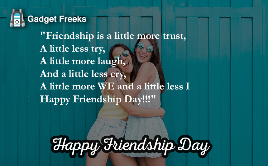 Friendship Day Short Status