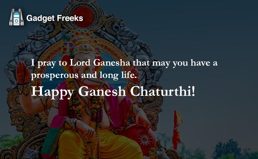 Ganesh Chaturthi Wishes 2019