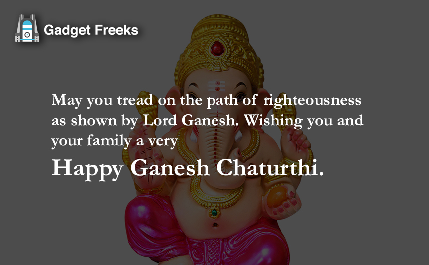 Ganesh Chaturthi Wishes for Friends & Family