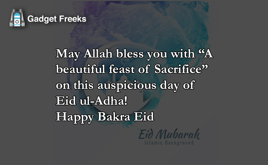 Happy Bakra Eid Mubarak Quotes