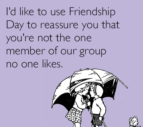 Happy Friendship Day Memes