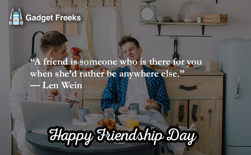 Happy Friendship Day Sayings