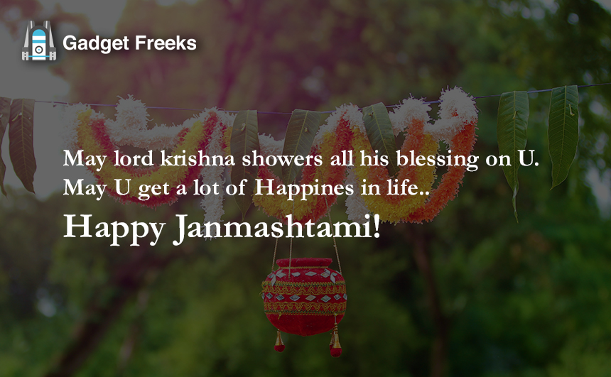 Happy Janmashtami Cards