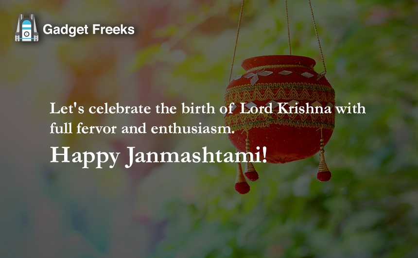 Happy Janmashtami Greetings