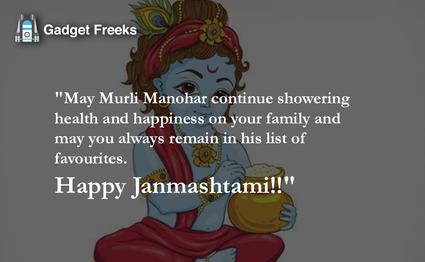 Happy Janmashtami Images HD