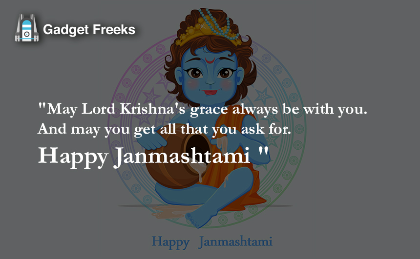 Happy Janmashtami Messages 2019