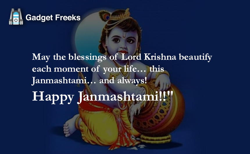 Happy Janmashtami Status