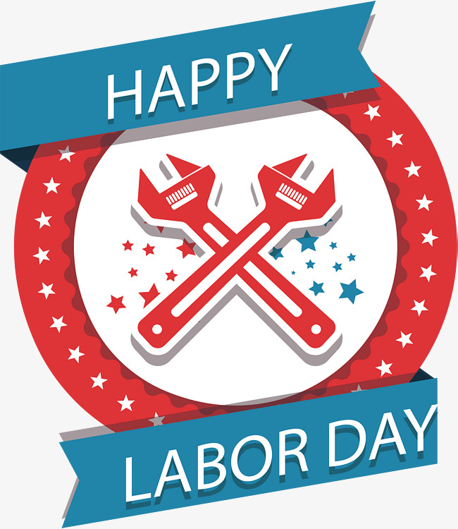Happy Labor Day Cliparts