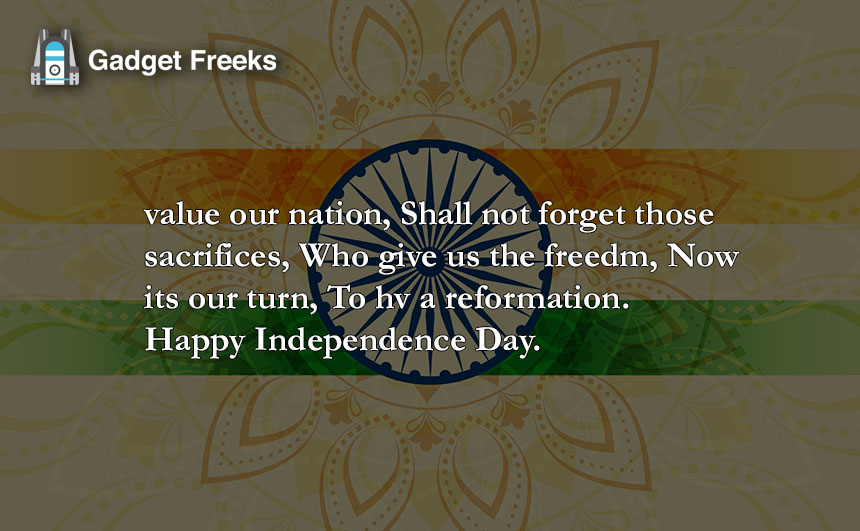 Independence Day Shayari & Poems