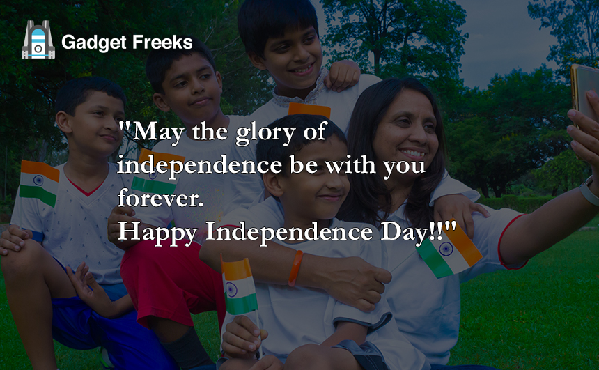 Independence Day Wishes for Friends & Family